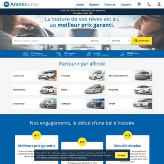 Aramisauto - Achat de voitures d'occasion ou neuves pas chères - Mandataire auto