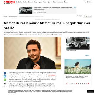 Ahmet Kural kimdir- Ahmet Kural'ın sağlık durumu nasıl- - Son Dakika