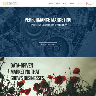 Spiralytics Performance- Digital Marketing Agency