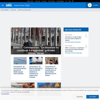 France Bleu – L'actualité en direct, info locale et nationale