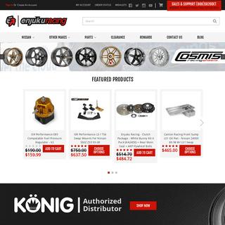 Nissan Aftermarket Parts - Automotive Racing Parts - Enjuku Racing