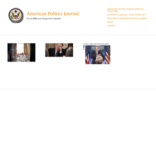 American Politics Journal – Since 1988 over Darpa then ArpaNet