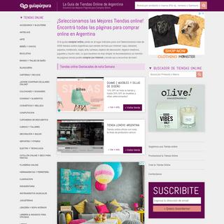 Guía Púrpura - Guía de Tiendas online de Argentina - Donde comprar por Internet