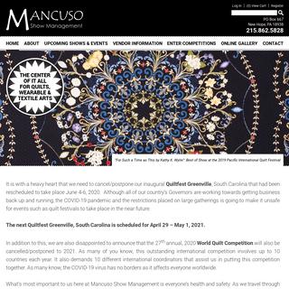 Home » Mancuso Show Management