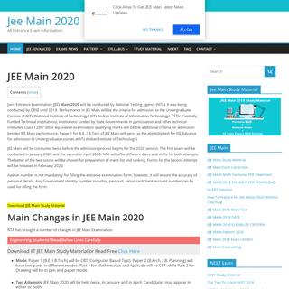 Jee Main 2020 Application Form, Exam Dates, Tricks to Crack