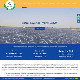 Solar Energy Company in India - Solar Power Company in India - AMPL