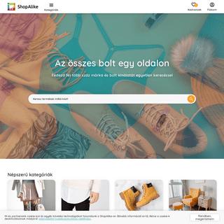 ShopAlike.hu - Divat & Lakberendezés - az összes bolt egy fedél alatt