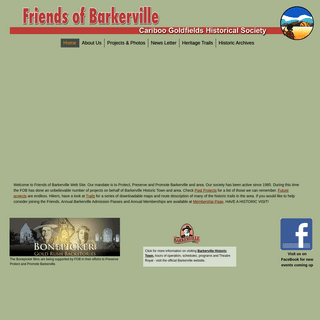 Friends of Barkerville