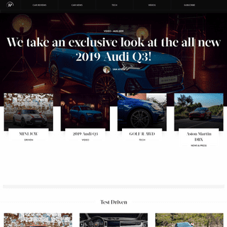 The Motorist - South African Car Reviews and News - The Motorist
