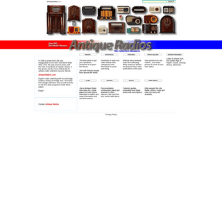 Antique Radios - The Collector's Resource