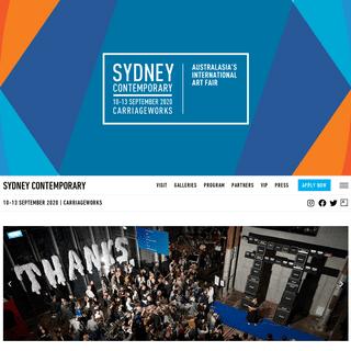 Home - Sydney Contemporary