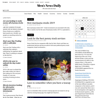 Men's News Daily - The news site men trust