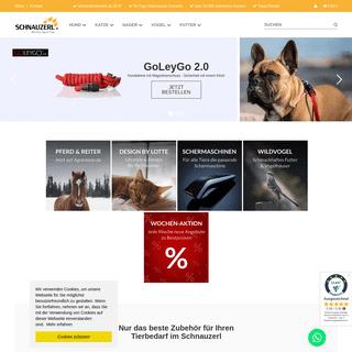 Tierbedarf online – im Schnauzerl