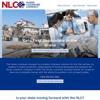 Nurse Licensure Compact - NLC
