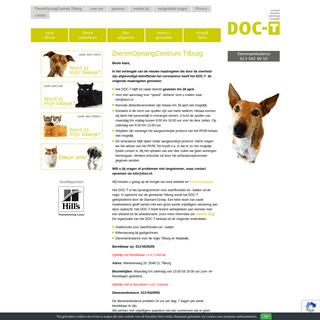 DOC-T DierenOpvangCentrum-Tilburg e.o. - Het DOC-T heeft als doel het opvangen van gevonden en afstandsdieren.
