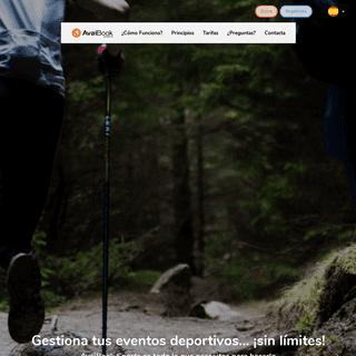 AvaiBook Sports - Plataforma de Gestión de Eventos Deportivos