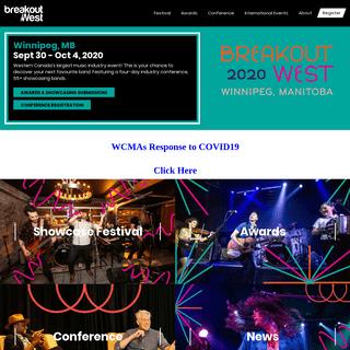 ArchiveBay.com - breakoutwest.ca - Canadian Music Festival & Conference - BreakOut West