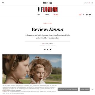 Emma- film review - Vanity Fair