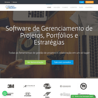 Software de Gerenciamento de Projetos - Project Builder