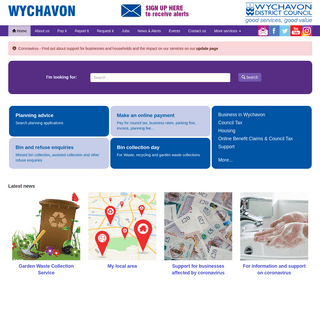 Home - Wychavon District Council