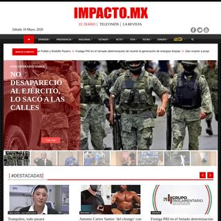 IMPACTO MX - Empresa periodística, nuestro único compromiso es decir la verdad