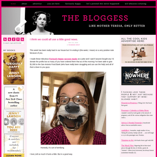 The Bloggess - Bizarre thoughts from author Jenny Lawson – Like Mother Teresa, only better.