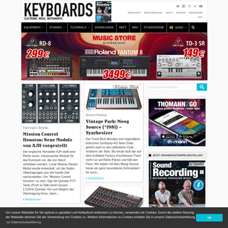 ELECTRONIC. MUSIC. INSTRUMENTS. - KEYBOARDS
