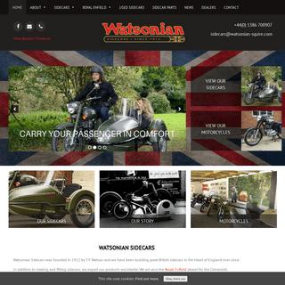 ArchiveBay.com - watsonian-squire.com - Great British Sidecars Since 1912 - Watsonian Squire Sidecars