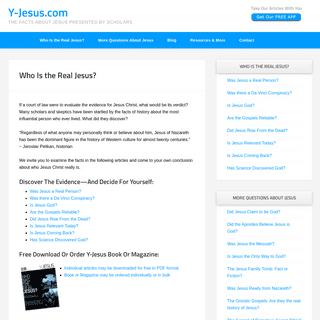 ArchiveBay.com - y-jesus.com - Who Is the Real Jesus- - Y-Jesus.com