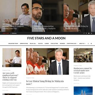 ArchiveBay.com - fivestarsandamoon.com - Five Stars And a Moon – A Magazine about Singapore