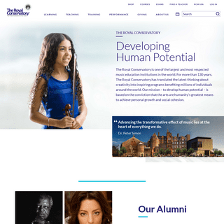 Home - The Royal Conservatory of Music