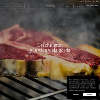 ArchiveBay.com - txogitxu.com - Carne roja y producto gastronómico vasco de calidad - Txogitxu