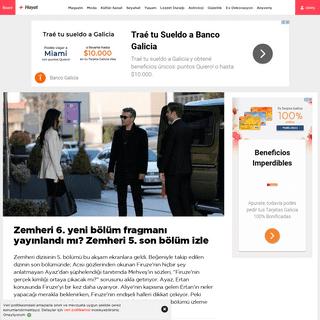 Zemheri 6. yeni bölüm fragmanı yayınlandı mı- Zemheri 5. son bölüm izle - Magazin haberleri