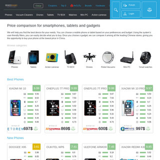 ArchiveBay.com - china-prices.com - DeviceRanks - Price comparison for smartphones, tablets and gadgets from leading Chinese brands
