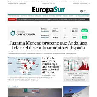 Europa Sur - Noticias del Campo de Gibraltar y su comarca - Europa Sur