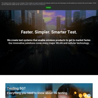 ArchiveBay.com - litepoint.com - Leader of Wireless Testing Innovations - LitePoint