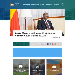 La Marina - Présidence de la République du Bénin