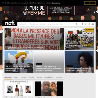 NOFI - Premier sur la culture Noire