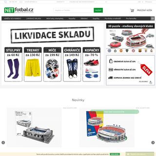 Fotbalový obchod - NETfotbal.cz