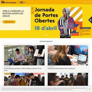 TecnoCampus - Centres adscrits a la Universitat Pompeu Fabra i Parc empresarial - Tecnocampus
