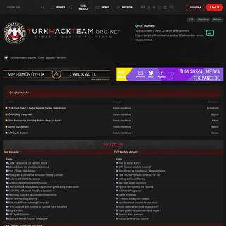 Turkhackteam.org-net - Cyber Security Platform