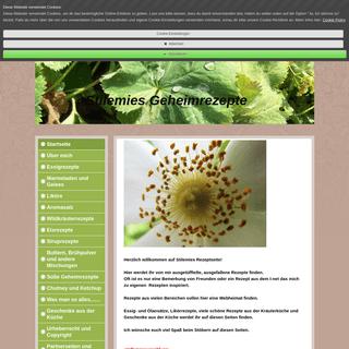 Geheimrezepte - geheimrezepte Webseite!