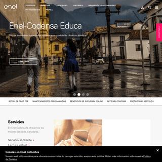 Servicio al usuario - Enel-Codensa