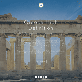 Greece High Definition - A historic cradle of Hellenism