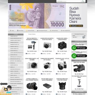 Rental kamera termurah di Jogja
