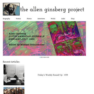 The Allen Ginsberg Project - AllenGinsberg.org