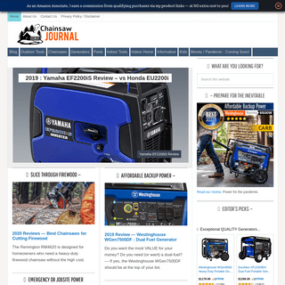 ArchiveBay.com - chainsawjournal.com - Chainsaw Journal - Home Tools, Power Equipment, & Toys — Expert Advice