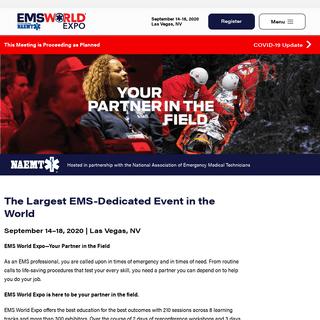 Home - EMS World Expo