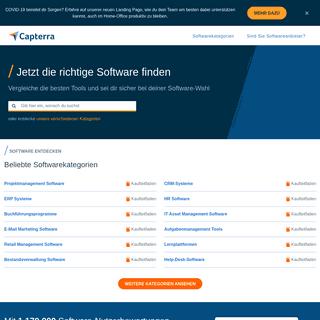 Capterra- Finde Business Software mit Bewertungen & Preisvergleich – Capterra Deutschland 2020