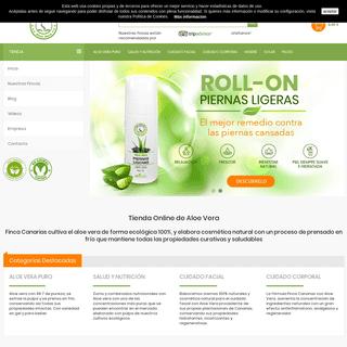 Tienda Online de Aloe Vera – Finca de Aloe Vera en Canarias
